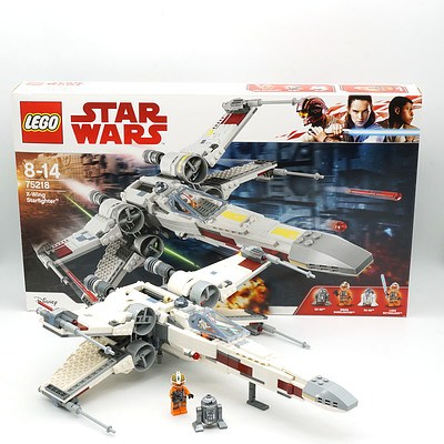 Star Wars Lego 75218 X-Wing Starfighter, with Box and Manuel