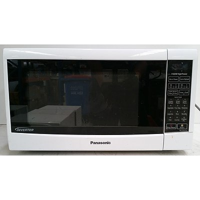 Panasonic Inverter NN-ST467W 1100W Microwave Oven