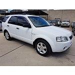 3/2005 Ford Territory TS (4x4) SX 4d Wagon White 4.0L