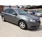 9/2009 Holden Cruze CD JG 4d Sedan Grey 2.0L