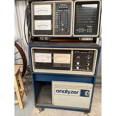 Allen Vintage Engine Diagnostic Analyzer