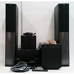Jamo 5.1 Surround Sound System and Denon AVR-790 AV Receiver