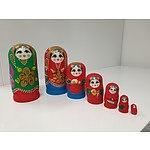 Babushka Dolls x 2