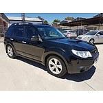 9/2011 Subaru Forester 2.0D MY11 4d Wagon Black 2.0L