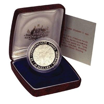 Australia: 1982 Proof $10 Commonwealth Games