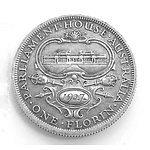 Aust: Silver Florin 1927 Canberra