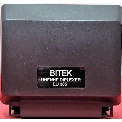 Bitek UHF/VHF Diplexers - Lot of 97