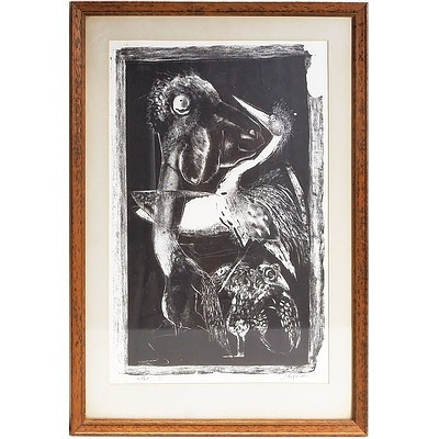 An Etching by Jim Paterson (b 1944- ), Lithe,Limited Edition 6 out of 10