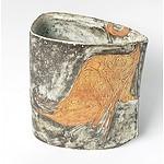 Hiroe Swen (Japan, Australia 1934-) Glazed Ceramic Vessel