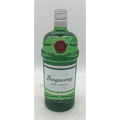 Tanqueray Export Strength London Dry Gin 1L