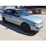 3/1995 Toyota Corolla CS-X SECA AE102X 5d Liftback Blue 1.8L
