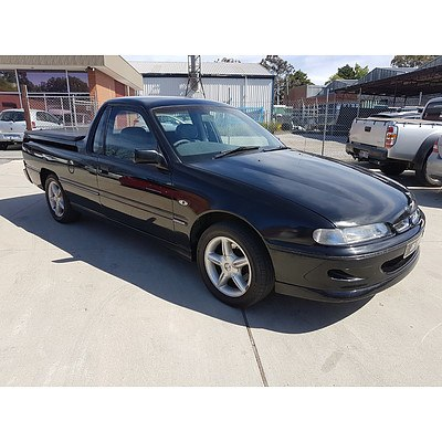 4/2000 Holden Commodore  VSIII Utility Black 3.8L