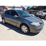 5/2008 Renault Megane Expression X84 MY06 UPGRADE 4d Sedan Grey 2.0L