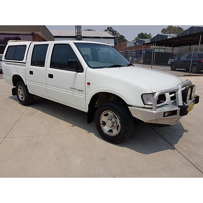 12/1999 Holden Rodeo LX TFR9 P/up White 3.2L