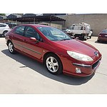 11/2004 Peugeot 407 SV Executive  4d Sedan Red 2.9L
