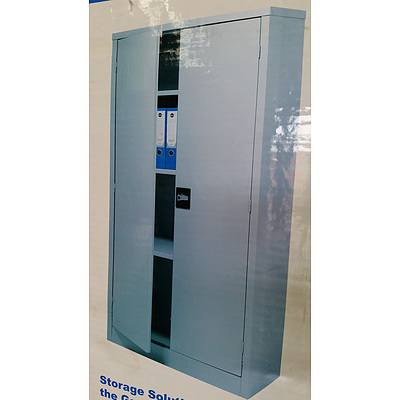 Geelong Steel Storage Cabinet - New