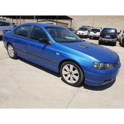 11/2004 Ford Falcon XT BA MKII 4d Sedan Blue 4.0L