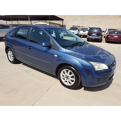 12/2006 Ford Focus CL LS 5d Hatchback Blue 2.0L
