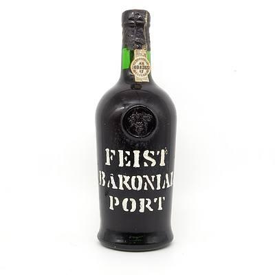 H. & C. J. Feist Baronial Port 750ml