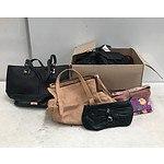 Box Lot of Handbags