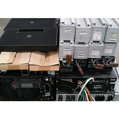 Bulk Lot of Assorted IT UPS Equipment