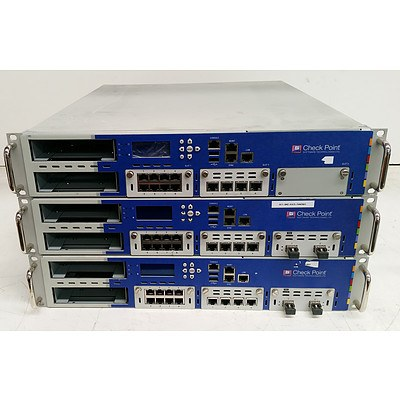 CheckPoint P-230 Network Security Appliance - Lot of Three