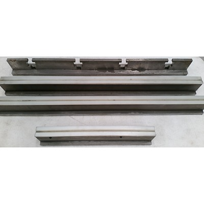Heavy Duty Runners and Guide Rail - Lot of Four - New