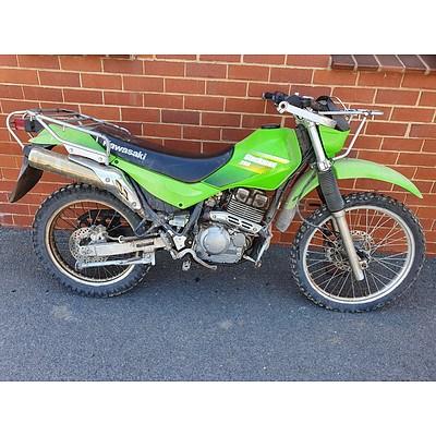 Kawasaki Stockman 250cc Motor Cycle