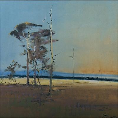 HAGAN Robert (b.1947) 'Afternoon, Long Flat'