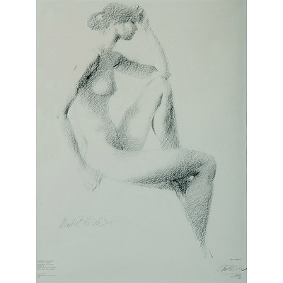 BILLICH Charles (b.1934) 'Pensive Nude' 1981