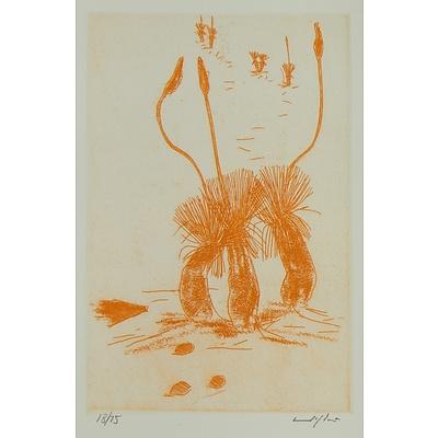 PUGH Clifton Ernest (1924-1990) 'Xanthorrhoea'
