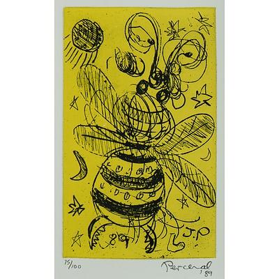 PERCEVAL, John (1923-2000) Bumble Bee 1989