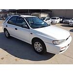 11/1998 Subaru Impreza GX (awd) MY99 5d Hatchback White 2.0L