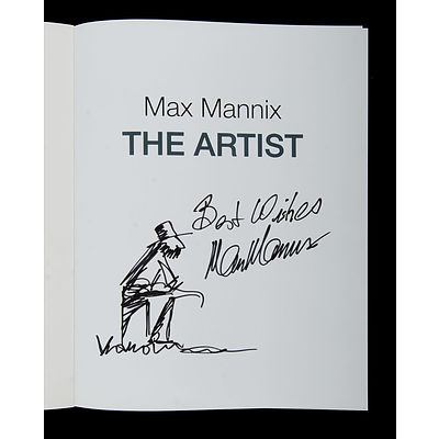 BOOK 'Max Mannix the Artist'