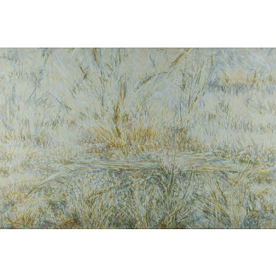LORD Anne (b.1953) Landscape with Reeds