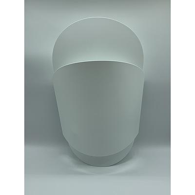 SLAMP Sun-Ra Medium Applique Wall Lights White - RRP $330.00 - Brand New