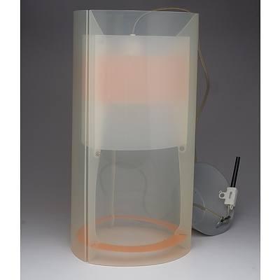 SLAMP Magic Suspension Lamp Medium Orange - RRP $295 - Brand New