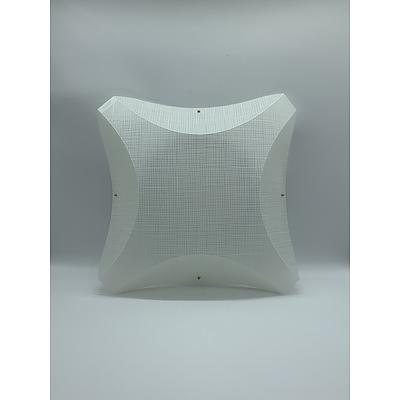 SLAMP Plana Lino Applique Wall Lights Opaque - RRP $245.00 - Brand New