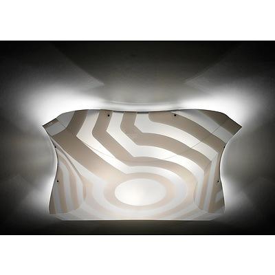 SLAMP Plana Venti Opaque Ceiling/Wall Light - Medium - RRP $425.00 - Brand New
