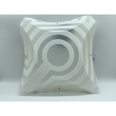 SLAMP Plana Venti Applique Wall Lights Opaque - RRP $270.00 - Brand New