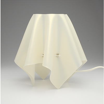 SLAMP Foulard Small Gold Bedside/Table Lamp - Lot of Two - RRP $290.00 - Brand New