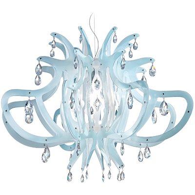 SLAMP Medusa Chandelier/Suspension Light - Blue Gel - RRP $3300.00 - Brand New