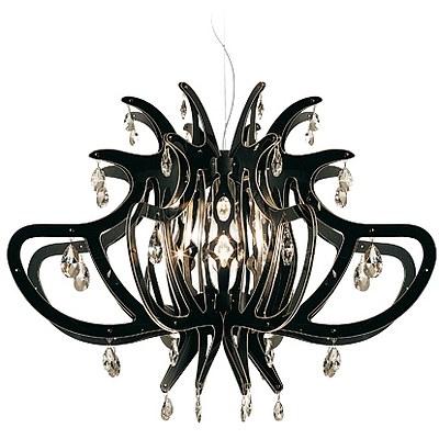 SLAMP Medusa Chandelier/Suspension Light - Black - RRP $3300.00 - Brand New