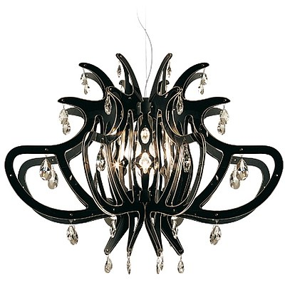 SLAMP Medusa Chandelier/Suspension Light - Black - RRP $3300.00 - Brand New