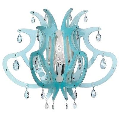 SLAMP Medusa Wall Applique Light - Blue Gel - RRP $1695.00 - Brand New