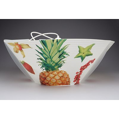 SLAMP Kitchen Art Suspension Applique Ceiling Lights in Fruits- Lot of Two- RRP $510.00 - Brand New