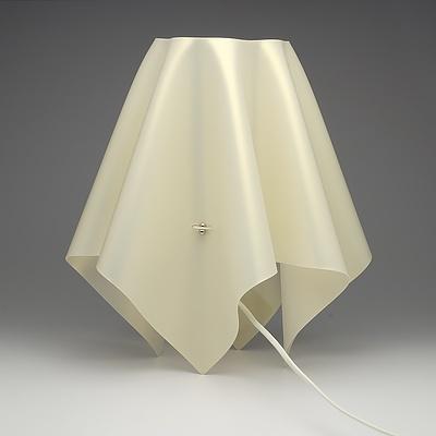 SLAMP Foulard Medium Gold Table Lamp - Lot of Two - RRP $460.00 - Brand New