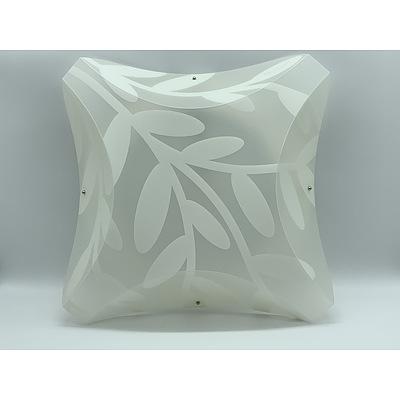 SLAMP Plana Dafne Applique Ceiling/Wall Lights Opaque - RRP $270.00 - Brand New