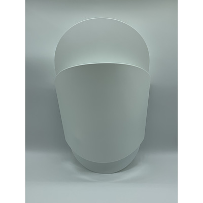 SLAMP Sun-Ra Small Applique Wall Lights White - Lot of Two - RRP $490.00 - Brand New