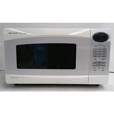 Sharp Carousel R-350L 1100W Microwave Oven